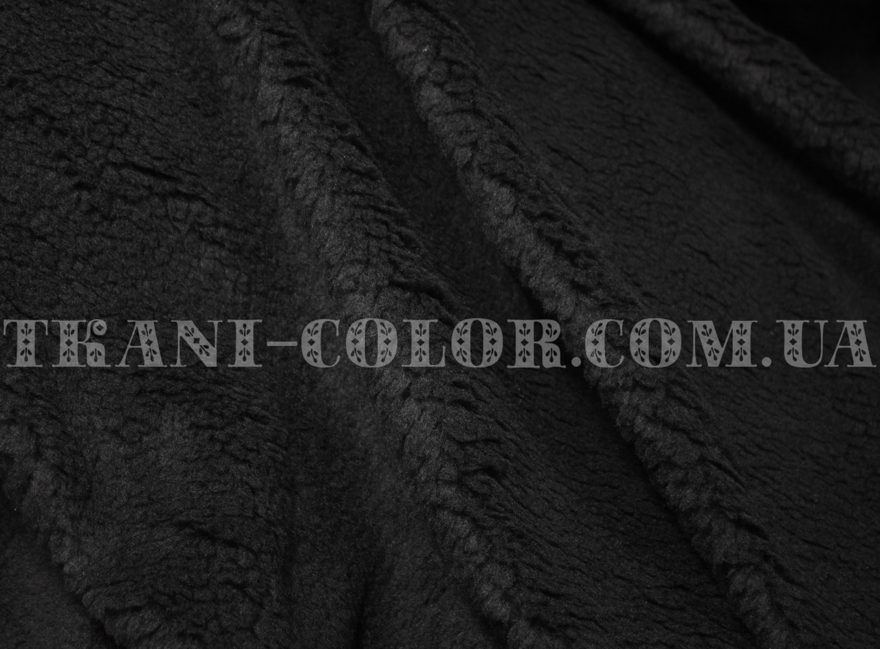 Искусственный мех овчина черная - Tkani-Color- магазин ткани и фурнитуры  оптом и в 271028c8608