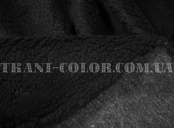Искусственный мех овчина черная, фото 2