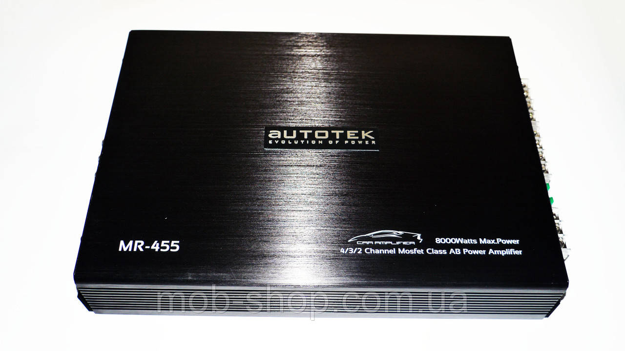 Автомобильный усилитель звука Autotek MR-455 8000 Вт