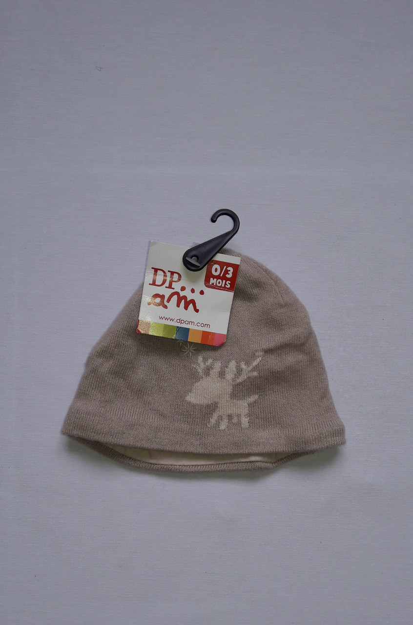 Шапочка для мальчика DPam бемби