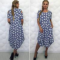 Нарядное женское платье ,больших  размеров  52-58, фото 1