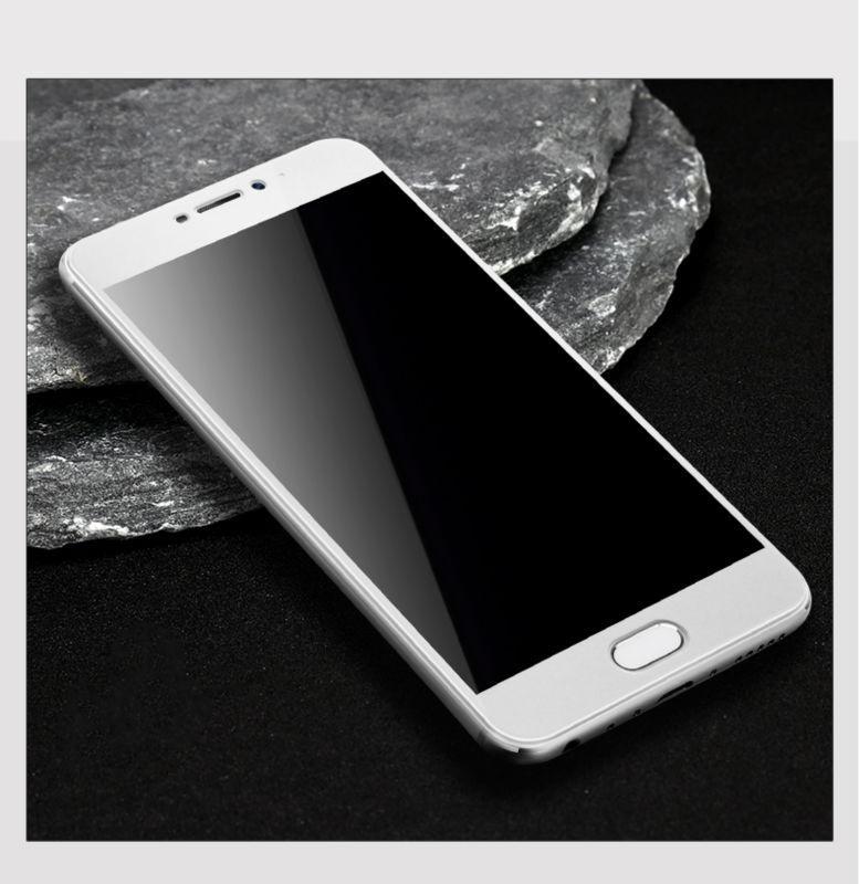 Защитное стекло AVG для Meizu U10 полноэкранное белое