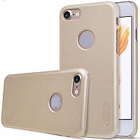 Чехол Nillkin Matte для Apple iPhone 7/8 (Gold) (+ пленка)