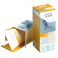 Eco cosmetics Солнцезащитный крем SPF 10 с экстрактом граната и облепихи, 75 мл