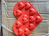 Силиконовые формы в виде сердца