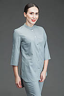 Медицинская блуза Т004, серая, фото 1