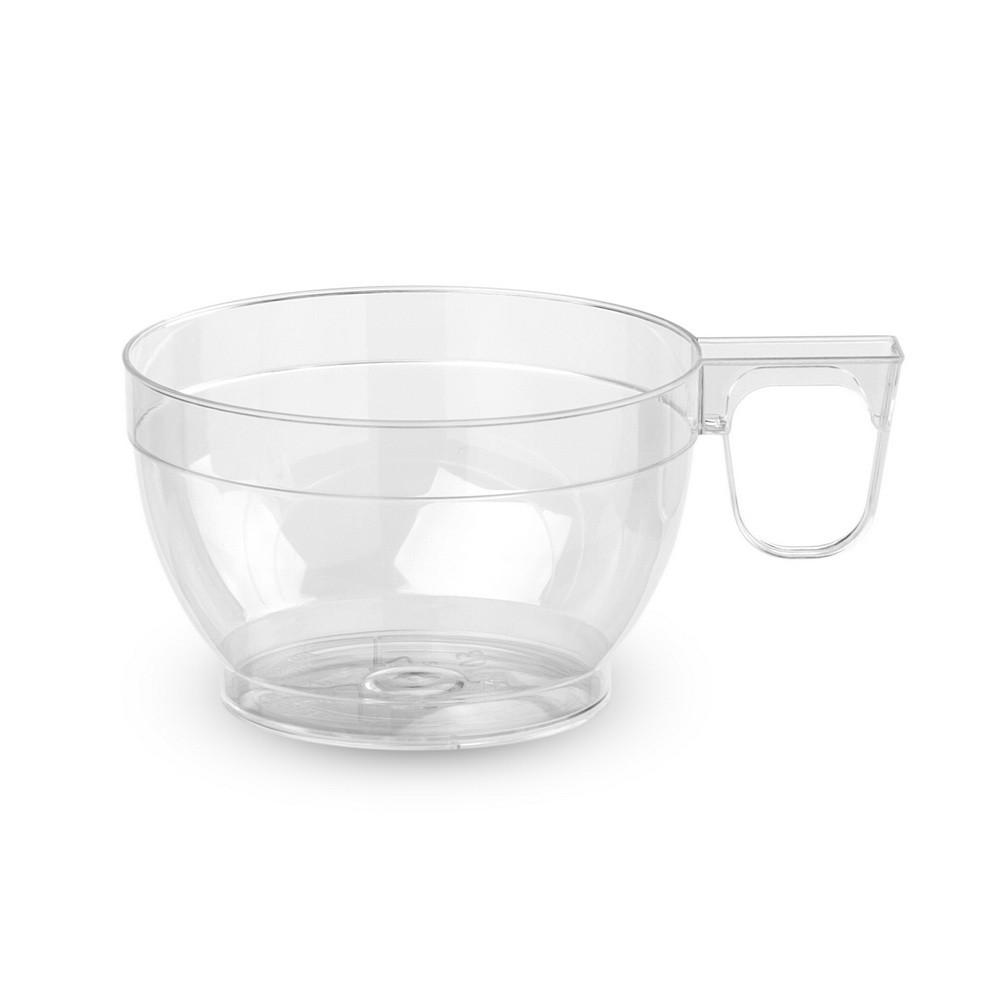 Чашки Bonita пластиковые 6 шт 150 мл прозрачные