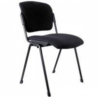 Мягкий офисный стул ERA черн