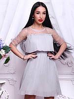 fade1ab52087421 Стильное женское платье из шифона с бахромой , цена 450 грн., купить ...