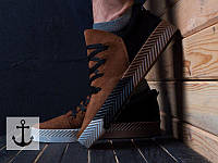 Мужские кроссовки Adidas Wang адидас ванг- Замша,рифленая платформа,резиновая подошва .Вьетнам р:40-45
