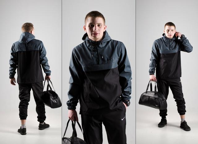 Комплекты анорак/ветровка/курточка и спортивные штаны Nike мужские весенние/осенние
