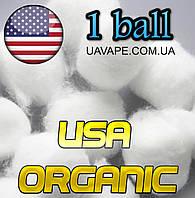 Ватные шарики для вейпа хлопок USA Organic