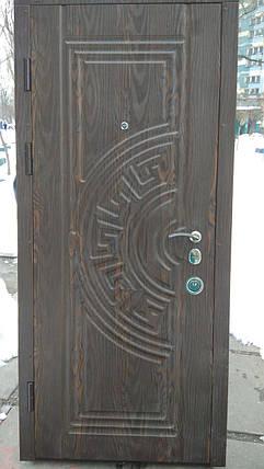 Двери входные ЛЮКС 2, 850*2050, 2 замка KALE, 2 контура уплотнения, фото 2