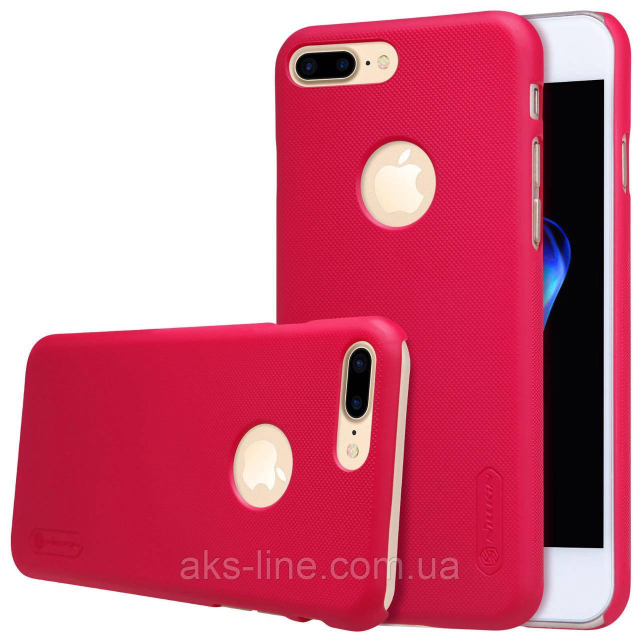 Чехол Nillkin Matte для Apple iPhone 7plus / 8plus (Red) (+ пленка), фото 1