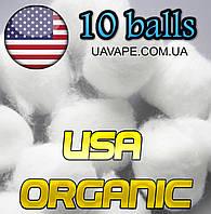 Органический хлопок USA Organic вата для сигарет