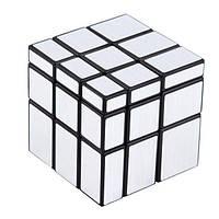 Зеркальный кубик Рубика 3x3x3 QiYi (Серебро)