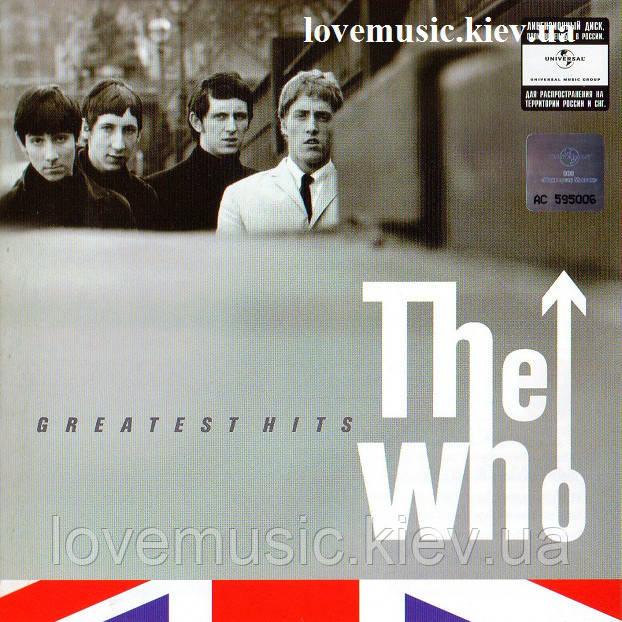 Музичний сд диск THE WHO Greatest hits (2010) (audio cd)