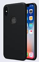 Чехол Nillkin Matte для Apple iPhone Х / XS (Black) (+ пленка)