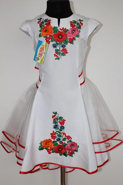 Вишите плаття дитяче  Діана фатін біла  продажа 32bf87eca75e3