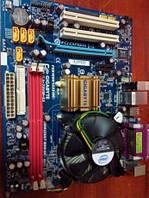 Материнская плата GIGABYTE GA-73VM-S2 + процессор и куллер в подарок