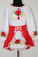 Вишите плаття дитяче: Мальвіна Тамара