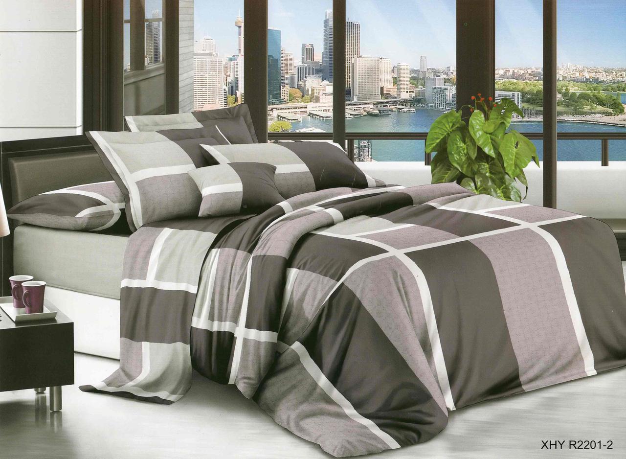 Двуспальный набор постельного белья 180*220 из Ранфорса №369 Черешенка™