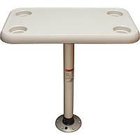 Комплект стол прямоугольный  Springfield 40х70см основание алюминий