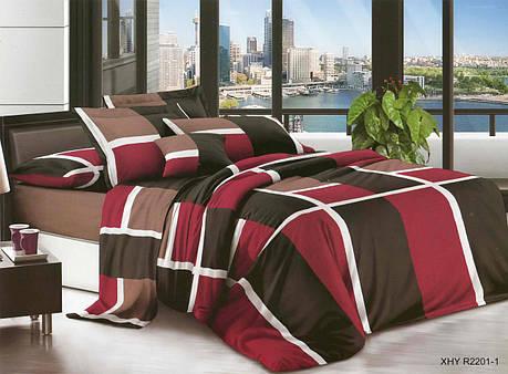 Полуторный набор постельного белья из Ранфорса №371 Черешенка™, фото 2