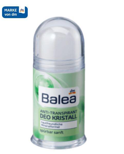Дезодорант кристалл Balea deo kristal 100 г