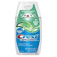 Гелевая зубная паста Crest Complete scope gel, мята 130 гр