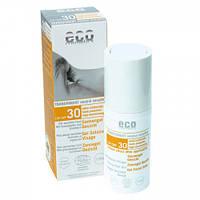 Eco cosmetics Солнцезащитный гель для лица SPF 30 с экстрактом граната и облепихи, 30 мл
