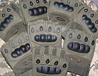 Перчатки тактические беспалые армейские Oakley