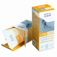 Eco cosmetics Солнцезащитный крем SPF 50+ с экстрактом граната и облепихи, 75 мл