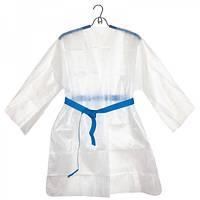 Куртка для пресотерапии с поясом Doily, размер L/XL, XXL (1 шт/патч) из спанбонда Цвет Белый