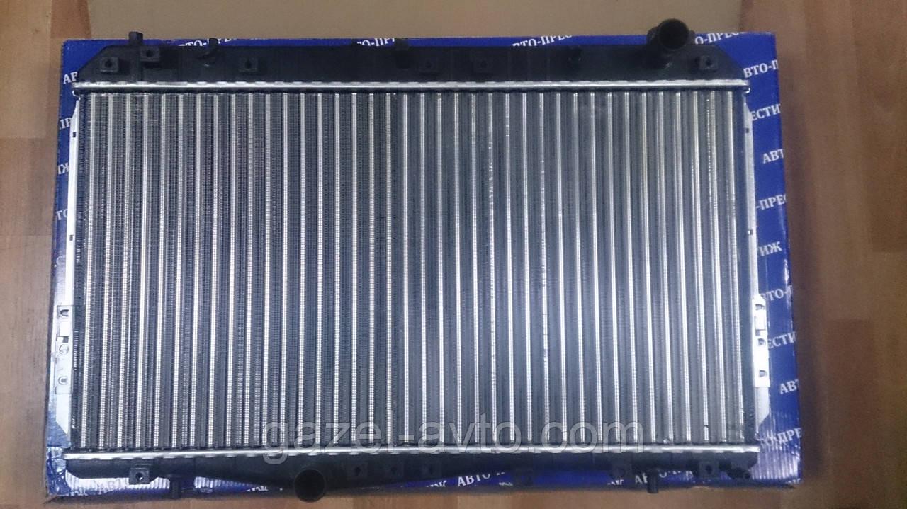 Радиатор водяного охлаждения Chevrolet Lacetti 1.6,1.8 16V механическ КПП (пр-во Авто Престиж)