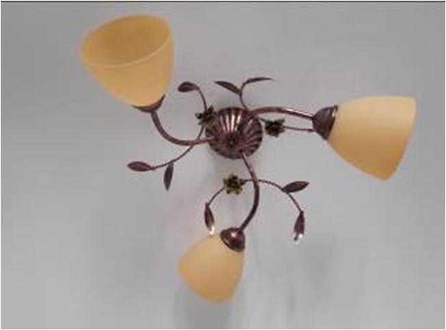 Люстра потолочная флористика 6903 Анастасия