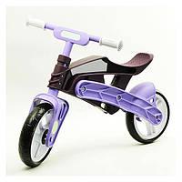 Беговел Real Baby KB7500 purple/brown