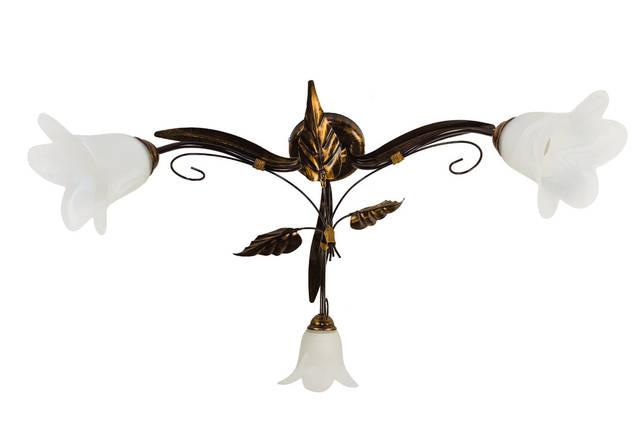 Люстра потолочная флористика 7201-7 Анжелика, фото 2