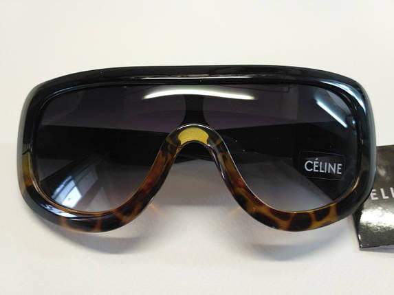 Очки  Celine черный+леопард, фото 2