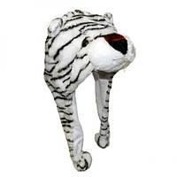 Шапка с ушками Белый тигр, фото 1
