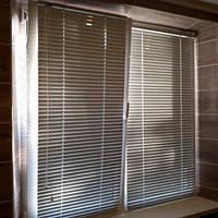 Жалюзи горизонтальные аллюминиевые белые 25мм, фото 1