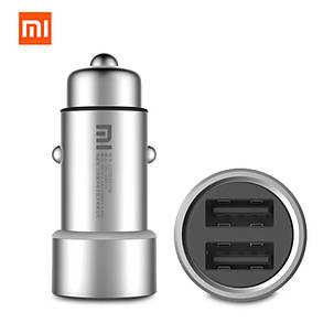 Автомобильное зарядное устройство Xiaomi Car Charger Dual USB ОРИГИНАЛ, фото 2