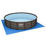 Каркасный круглый бассейн BestWay Ротанг 56664 (427x107 см), фото 2