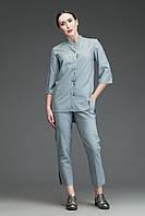 Костюм медицинский 0402 (с укороченными брюками), серый, фото 1