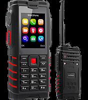 "IOutdoor T2, IP68, 4500 mAh, Рация Walkie-Talkie, Мощный фонарь, 2 SIM, MP3/MP4, PowerBank, дисплей 2.4"""
