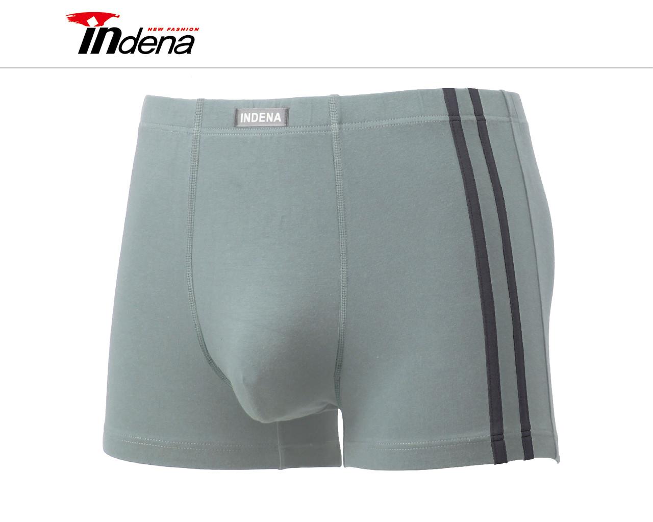 Мужские стейчевые боксеры (батал) «INDENA» Арт.75201