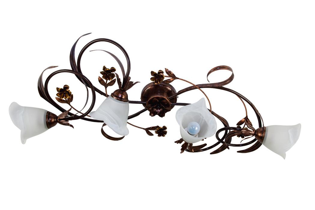 Люстра потолочная флористика 4205 Василина