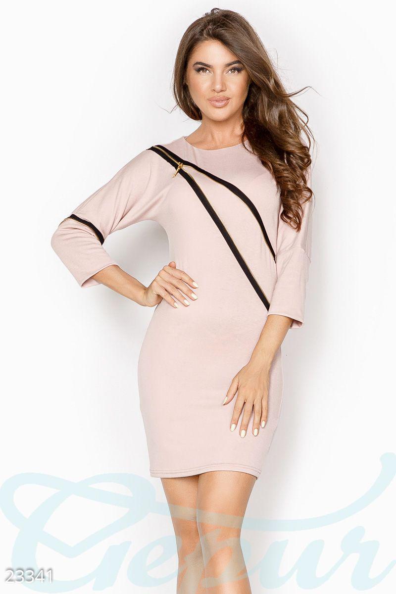 ebb71748c3b5a16 Облегающее платье молния, цена 690 грн., купить в Мариуполе — Prom ...