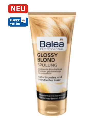 Кондиционер для волос Balea Glossy Blond 200 мл, фото 2
