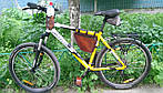 Кожаная сумка на велосипед/мотоцикл Hand Made 516, фото 5
